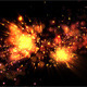 Small Abstract Fireworks - VideoHive Item for Sale