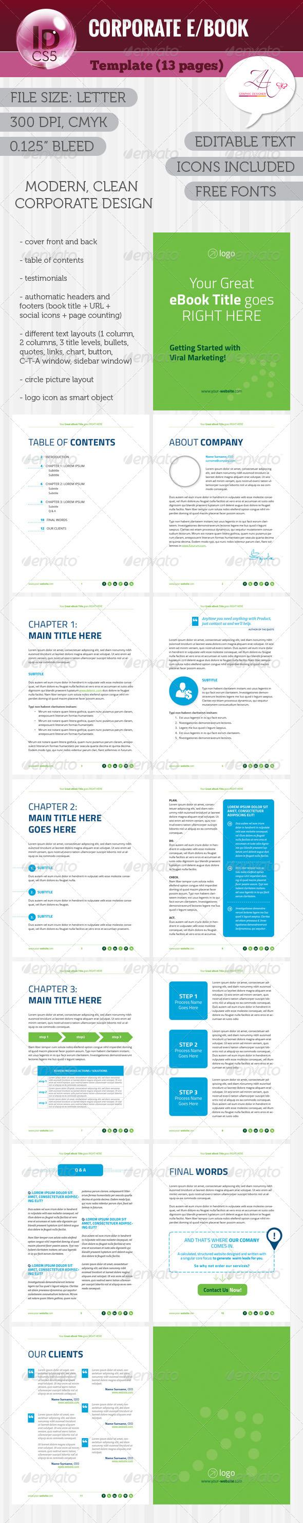 GraphicRiver Corporate E Book 5816772