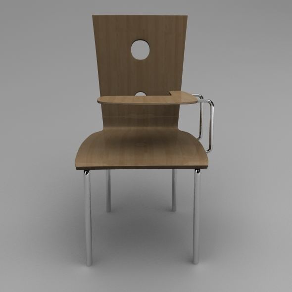 Classroom Chair - 3DOcean Item for Sale