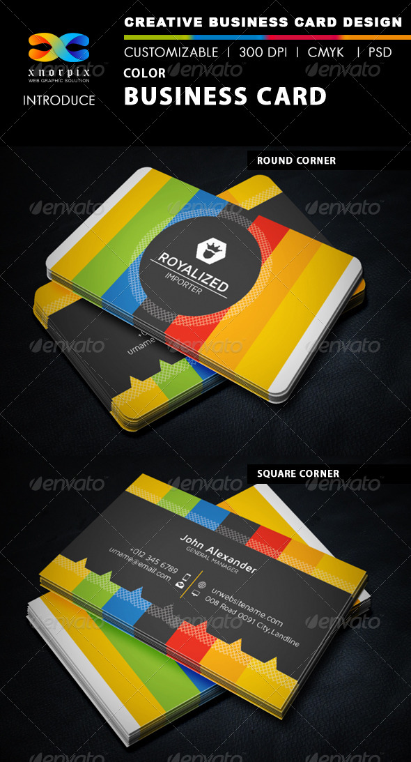 GraphicRiver Color Business Card 5816992