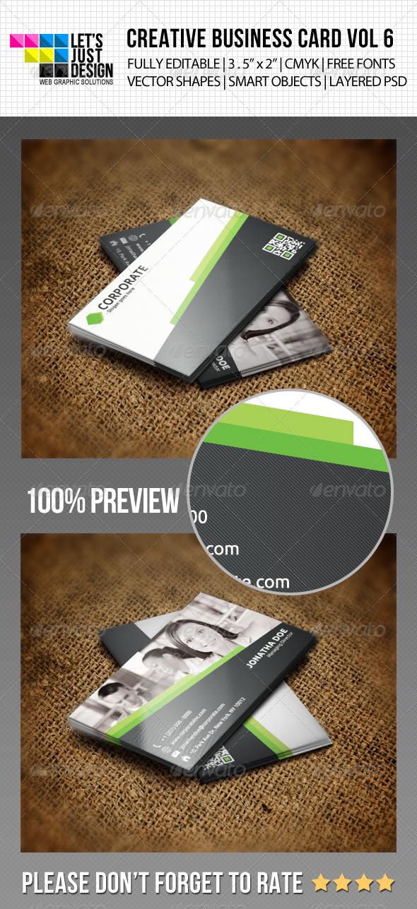 GraphicRiver Creative Business Card Vol 6 5817092