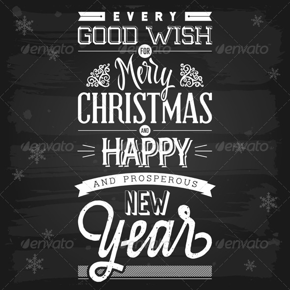GraphicRiver Christmas and New Year Greetings 5817109