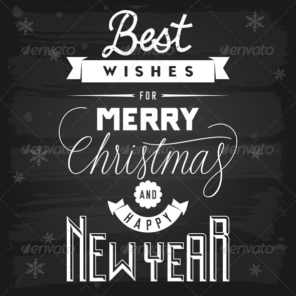 GraphicRiver Christmas and New Year Greetings 5817111