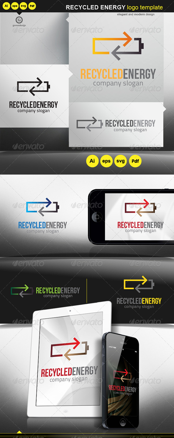 GraphicRiver Recycled Energy 5817139