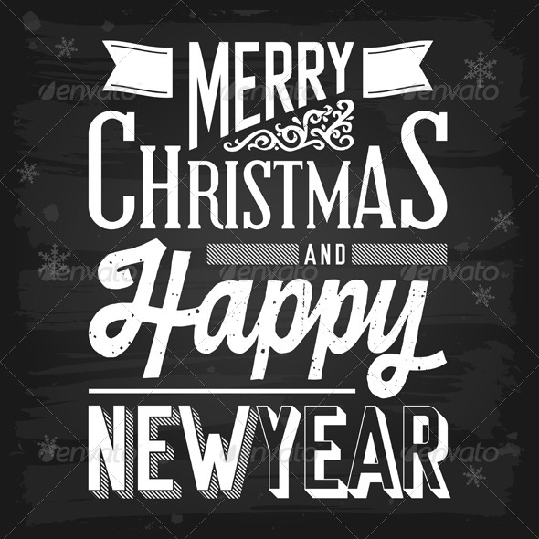 GraphicRiver Christmas and New Year Greetings 5817148