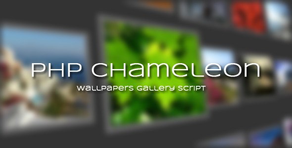 CodeCanyon PHP Chameleon Wallpapers Gallery Script 5803098