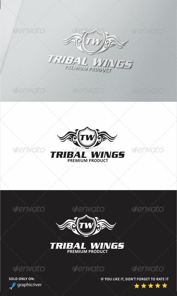 Tribal Wings Logo