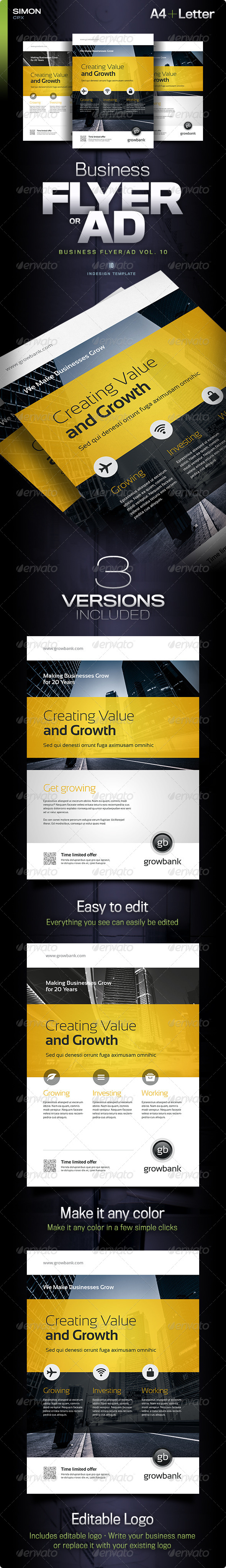 GraphicRiver Business Flyer Ad Vol 10 5817231