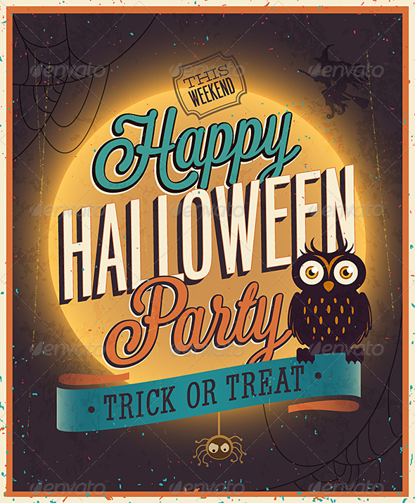 GraphicRiver Happy Halloween Poster 5817297