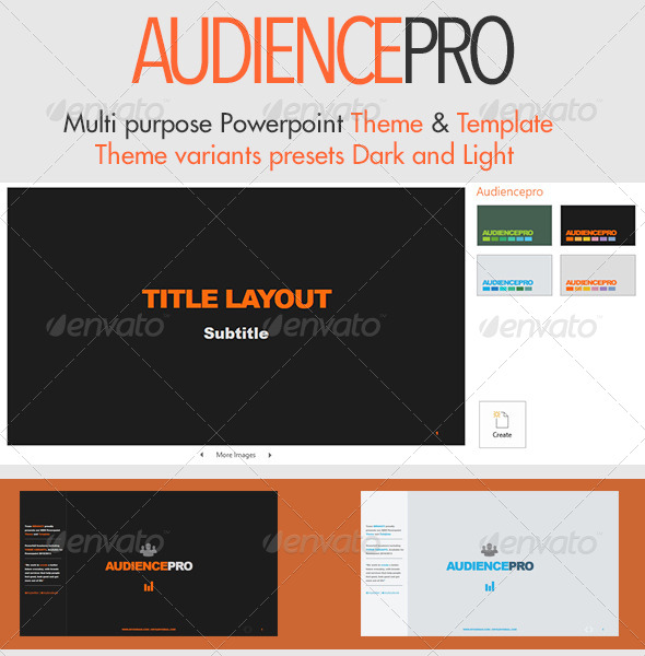 GraphicRiver Audiencepro Powerpoint Theme and Template 5759048