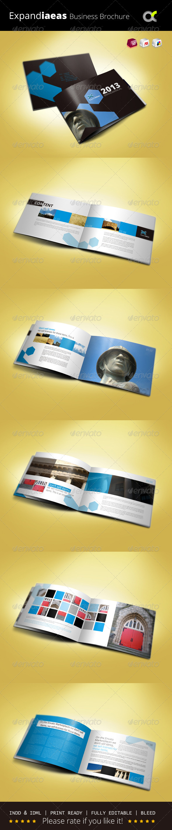 GraphicRiver Expandiaeas Business Brochure 5818210