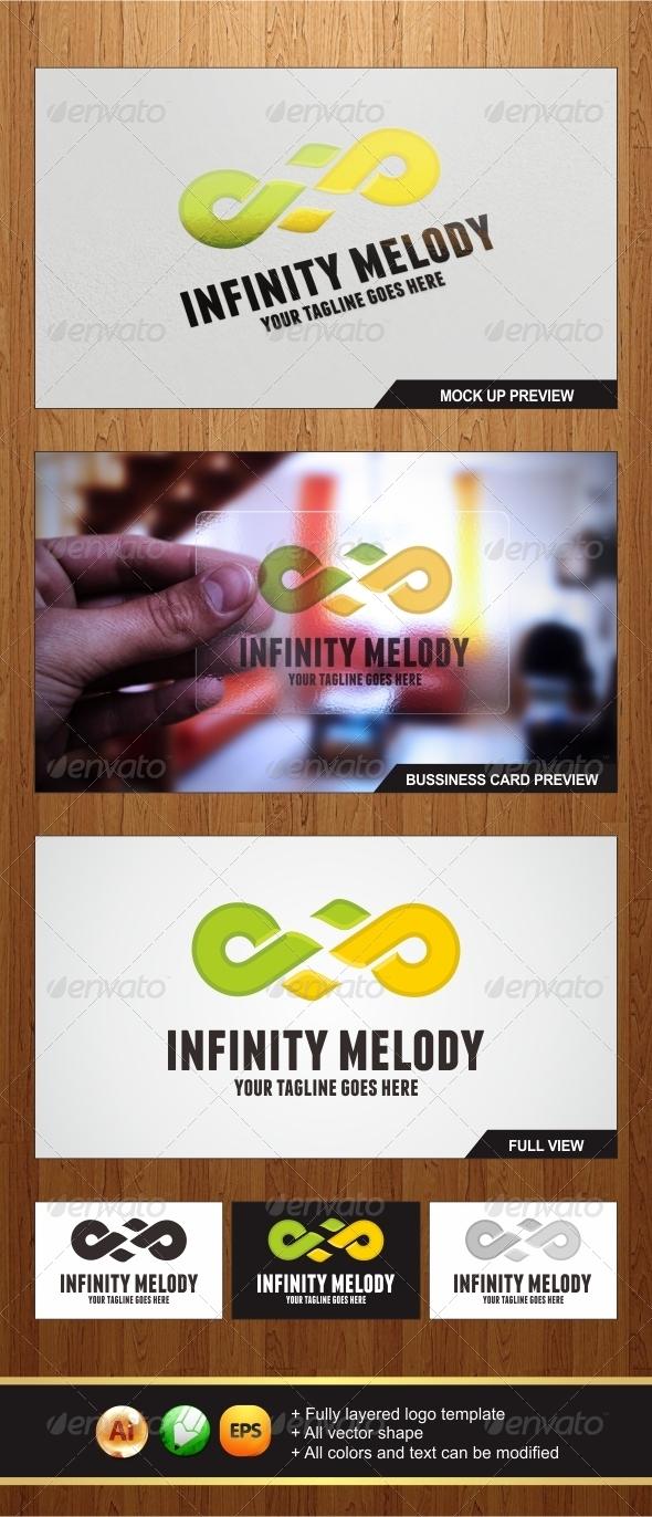 Infinity Melody - Symbols Logo Templates