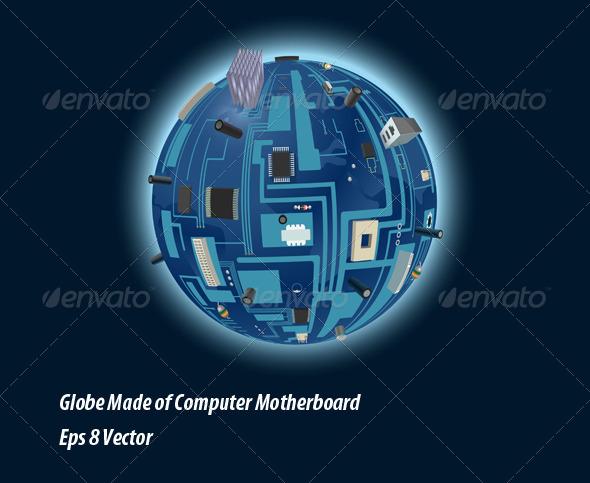 GraphicRiver Digital Planet 5819542