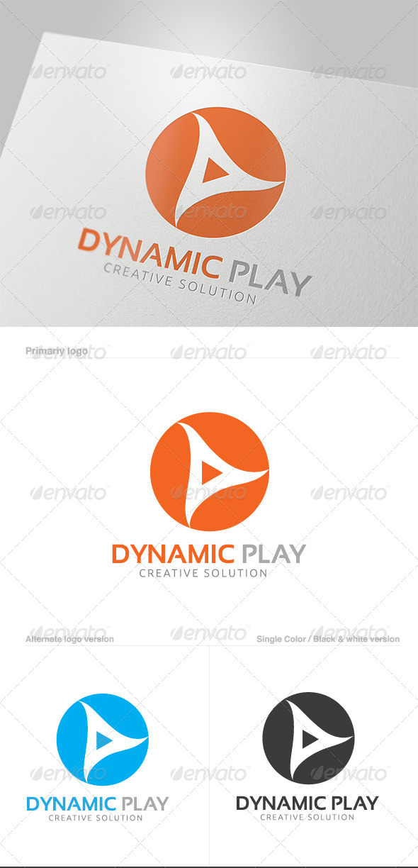 GraphicRiver Dynamic Play Logo 5819566