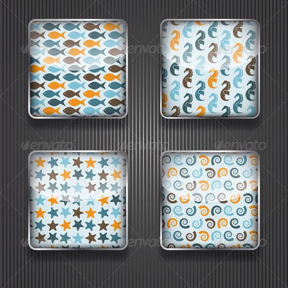 GraphicRiver 4 Shiny Icons 5819759