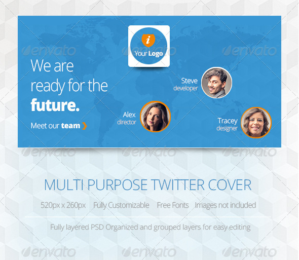 GraphicRiver Multipurpose Twitter Cover 5819893