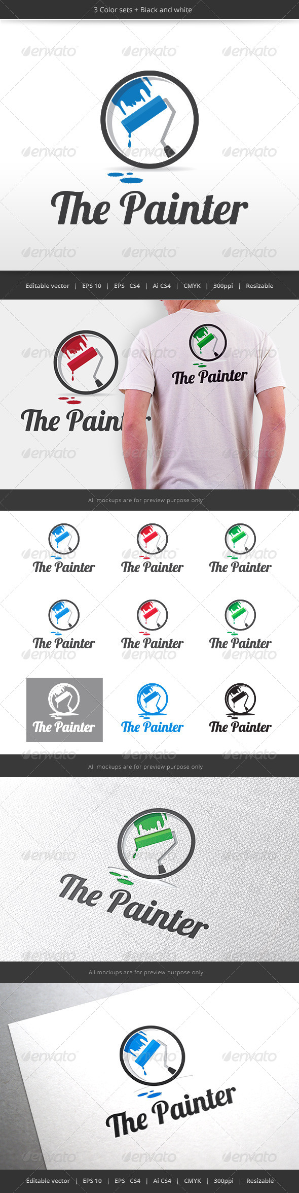 GraphicRiver The Painter Logo 5820543