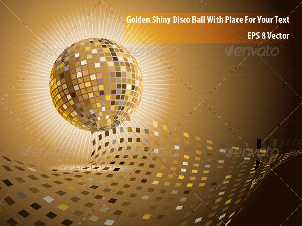 GraphicRiver Disco Ball 5820573