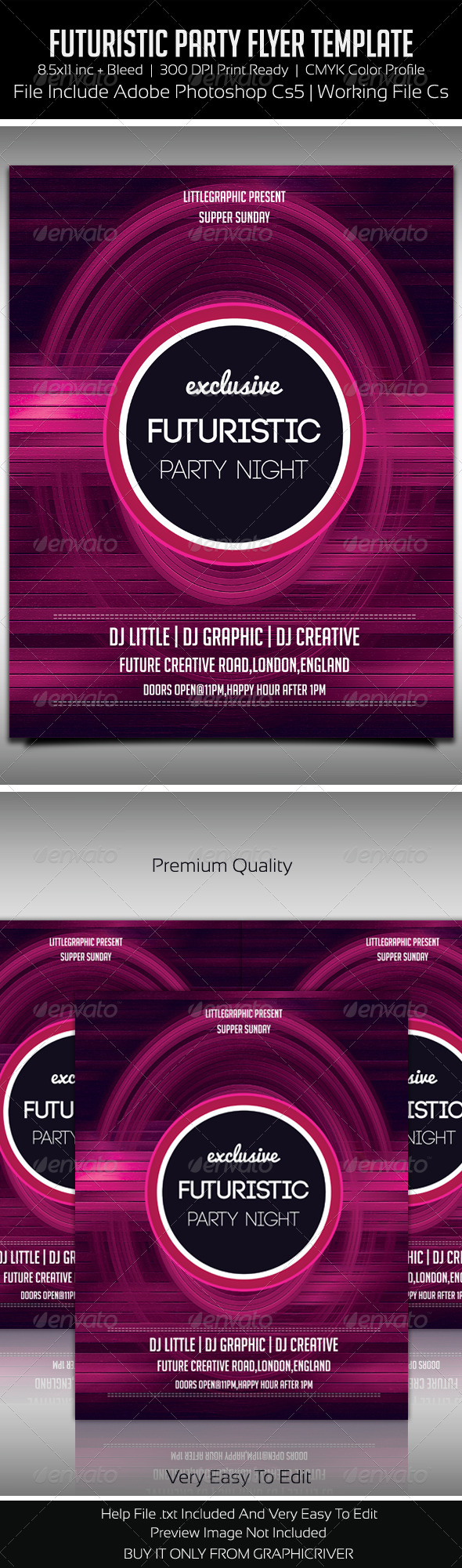 GraphicRiver Future Flyer 9 5820651