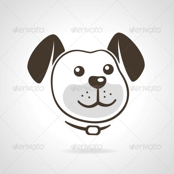 GraphicRiver Dog Icon 5820712