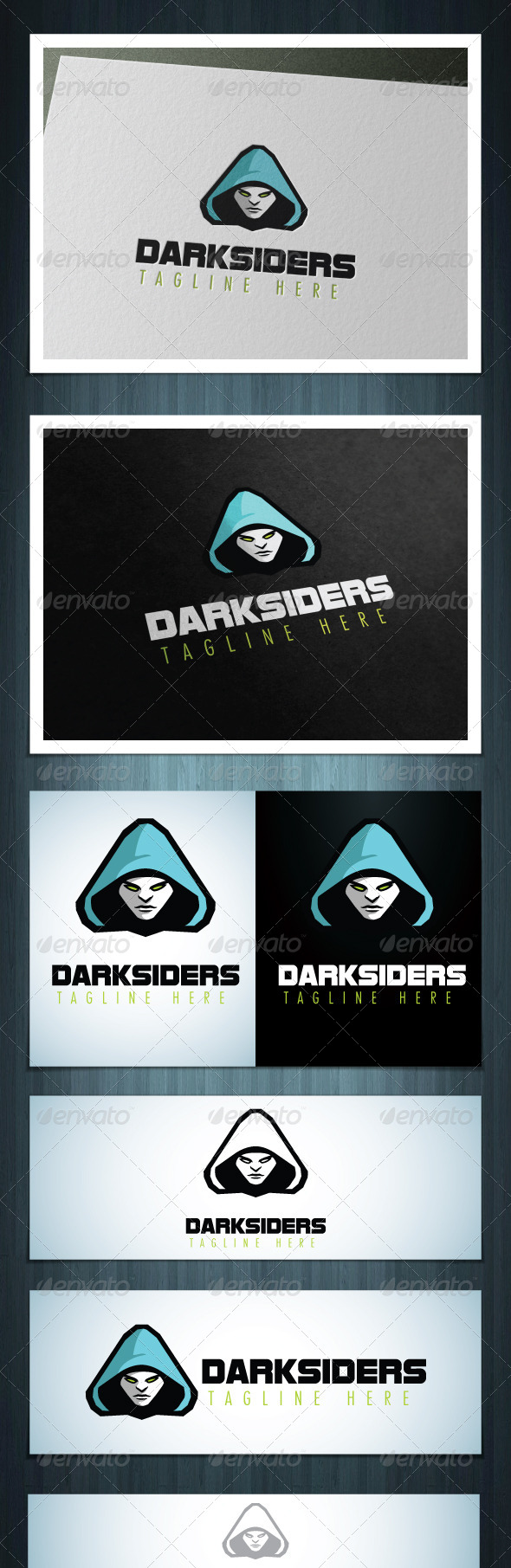 GraphicRiver Darksiders 5820827