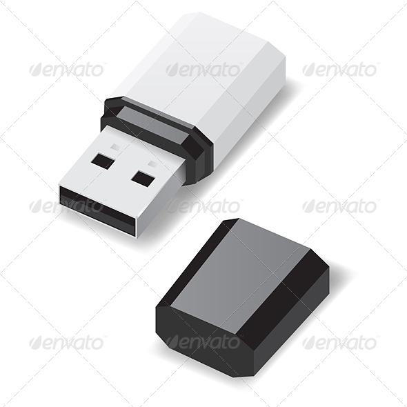 GraphicRiver USB Flash Drive 5820927