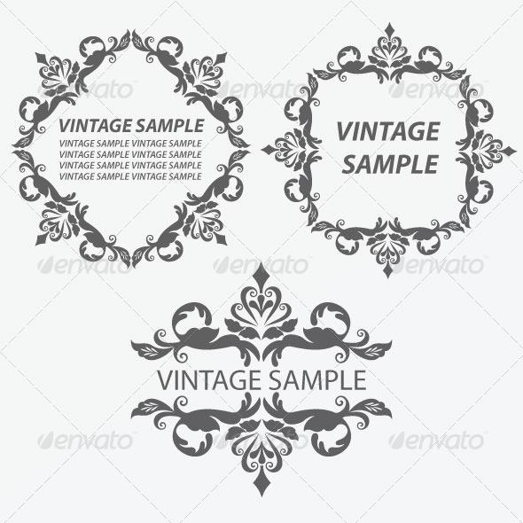 GraphicRiver Vintage Frame 13 5820953