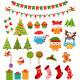 Retro Christmas Set - GraphicRiver Item for Sale