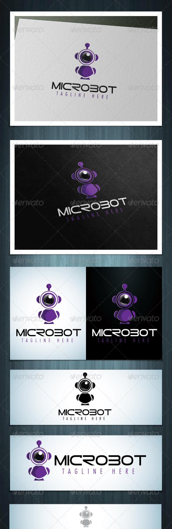 GraphicRiver Microbot 5821449