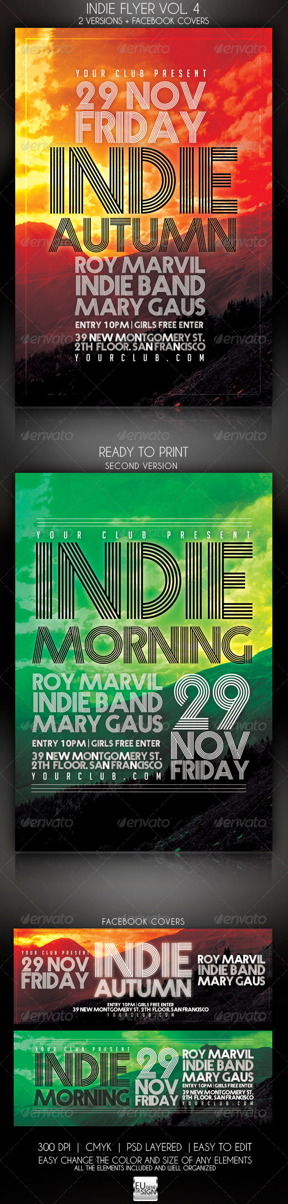 GraphicRiver Indie Flyer Vol 4 5821473