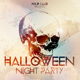 Skull Halloween Night Party Poster + Fb Cover - GraphicRiver Item for Sale