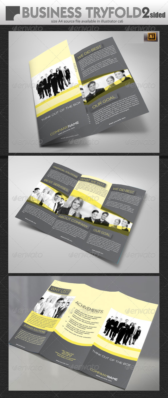 GraphicRiver Business Tri-Fold Brochure 5747203