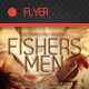 Fishers of Men Flyer Template - GraphicRiver Item for Sale