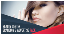 Beauty Center Branding and Advertisement Pack
