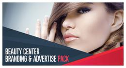 Beauty Center Branding and Advertisement Pack