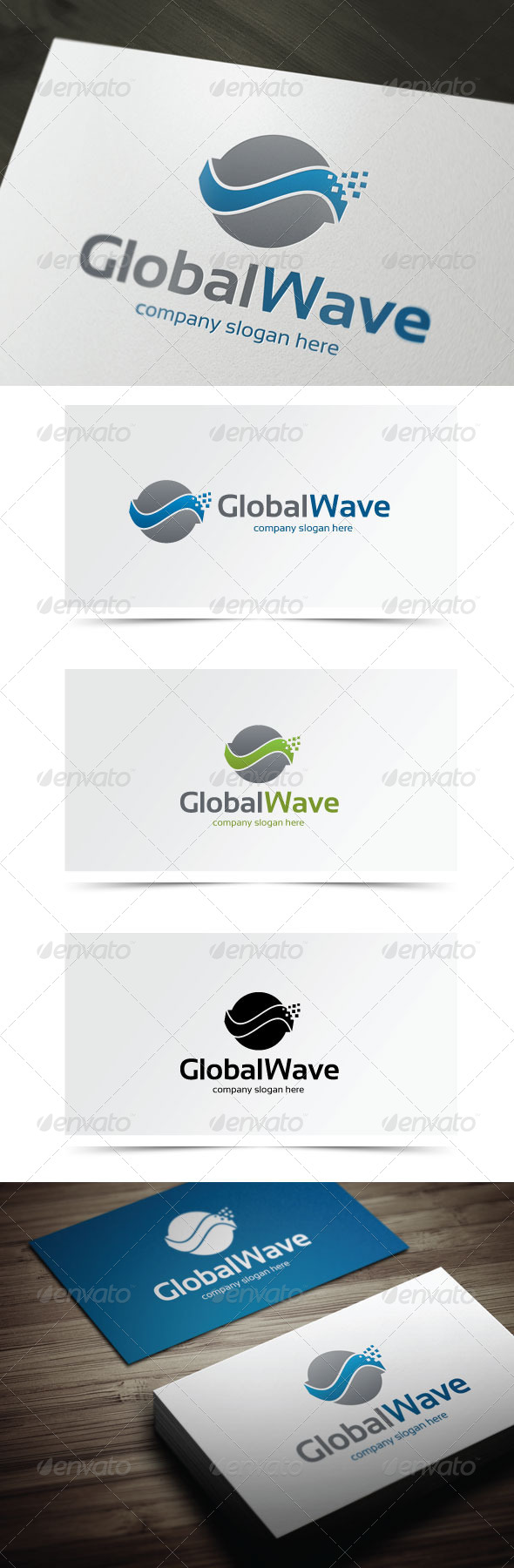 GraphicRiver Global Wave 5822266