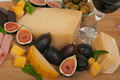 Cheese and Figs - PhotoDune Item for Sale
