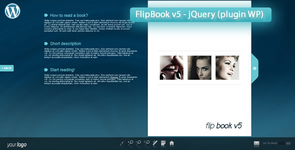 CodeCanyon Responsive FlipBook v5 jQuery plugin WP 5823062