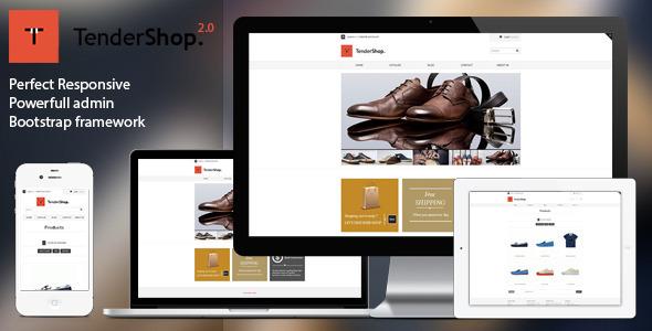 Tendershop - Minimal Responsive Shopify Theme - Shopping Shopify