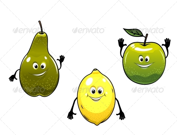 GraphicRiver Fruit Characters 5825181