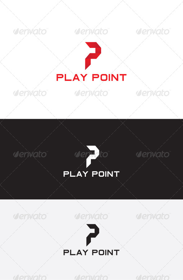 GraphicRiver P Letter Logo Design 5825688