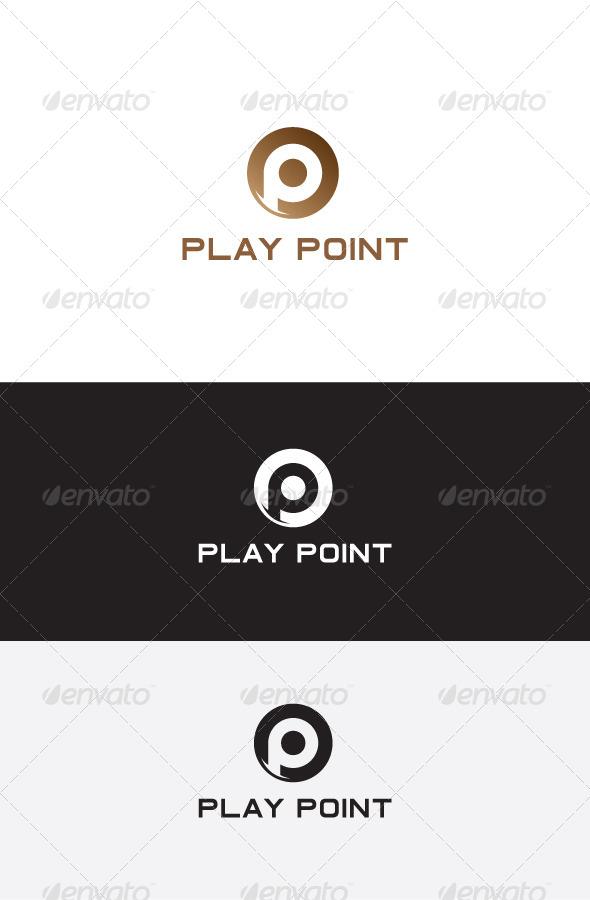 GraphicRiver P Letter Logo Design 5825705