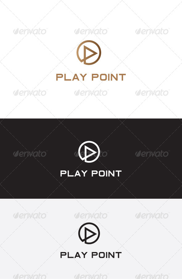 GraphicRiver P Letter Logo Design 5825722