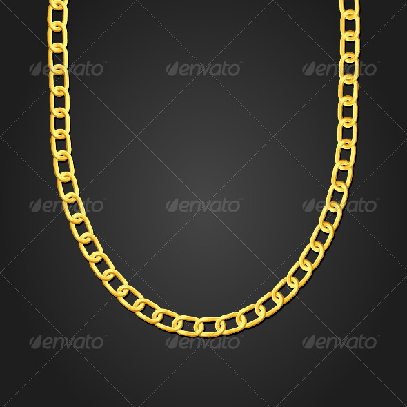 GraphicRiver Gold Necklace 5825880