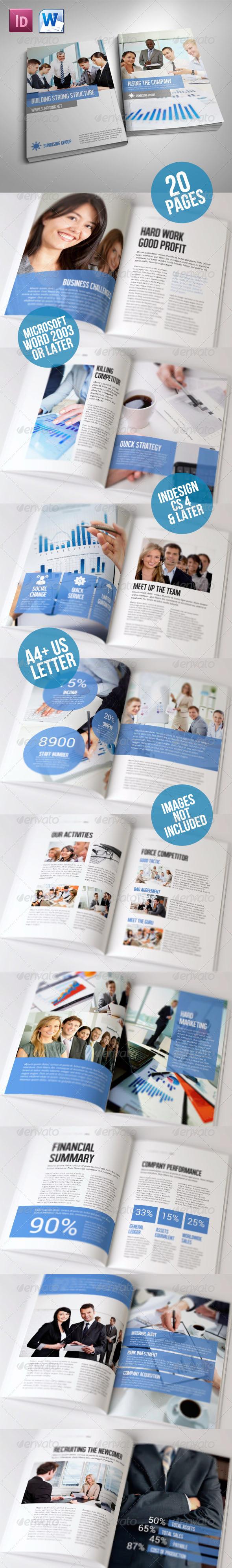 Simple Brochure Volume II - Corporate Brochures