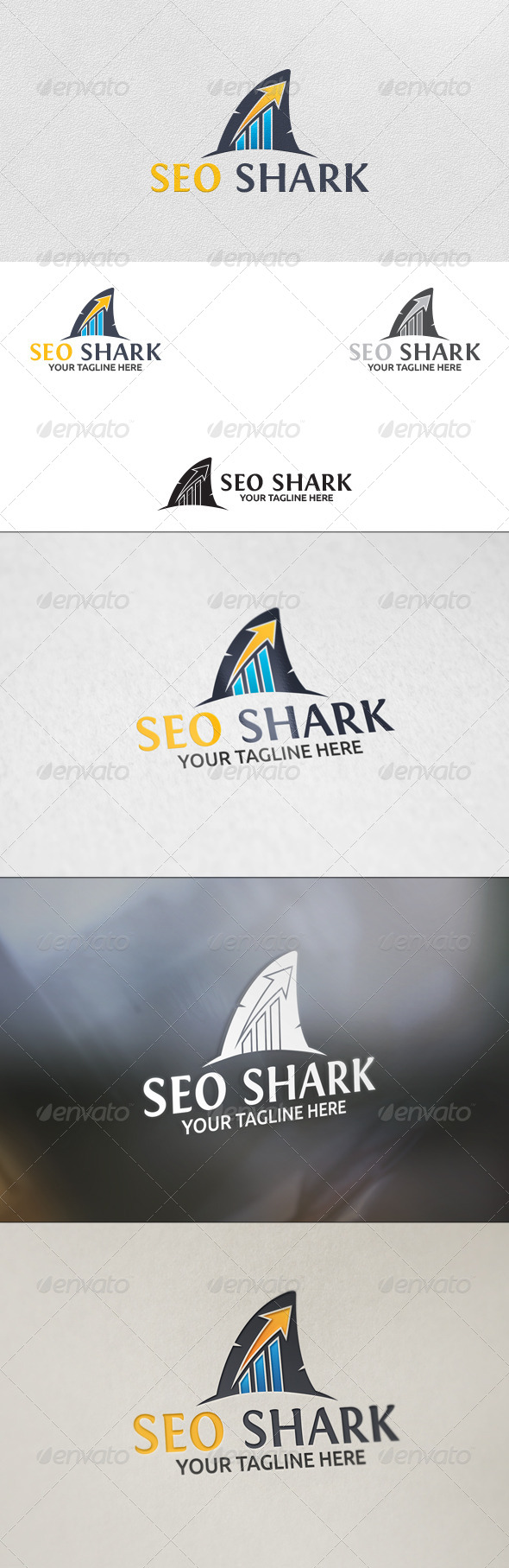 GraphicRiver SEO Shark Logo Template 5826648