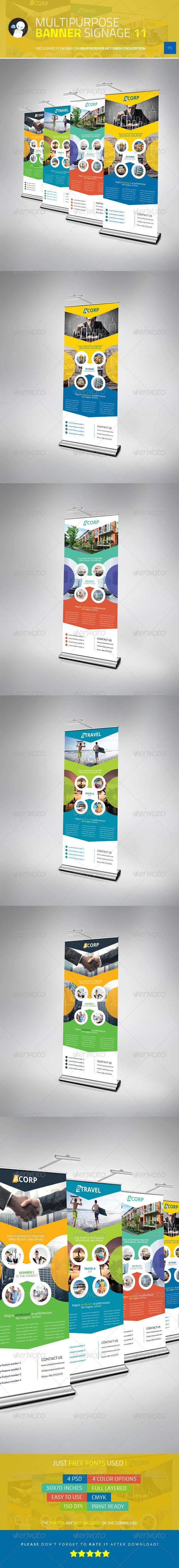 Multipurpose Banner Signage 11 - Signage Print Templates