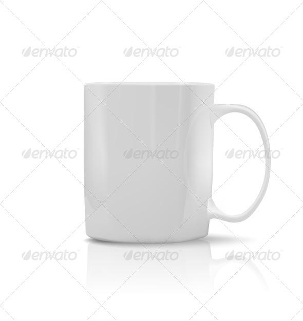 GraphicRiver Photorealistic White Cup 5827228