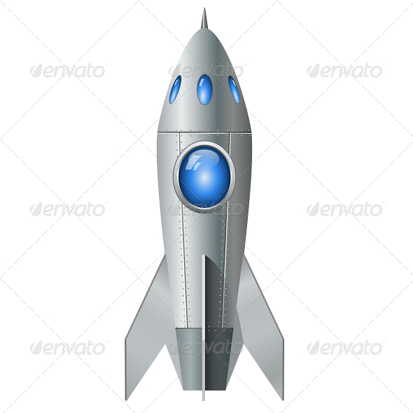 GraphicRiver Rocket 5827328