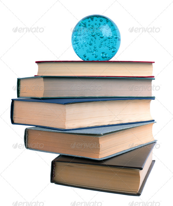 Staircase from books - Stock Photo - Images